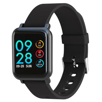 Montre connectée Abyx Fit Touch waterproof capteur cardiaque calorie noir |