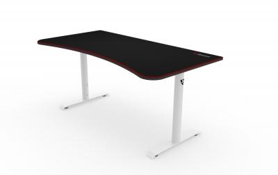 Arozzi arena gaming desk white trax distribution