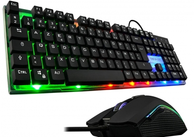 Gaming Combo – Keyboard KEYZ140FR Mouse KULT160  