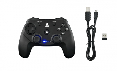 Wireless PC & PS3 gaming controler Virbations |