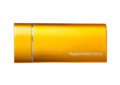 BATTERIE EXTERNE NANO IPHONE JAUNE |