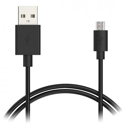 CABLE DE CHARGE POUR MANETTE PS4 :Cable USB vers mUSB , longueur  3 metres  